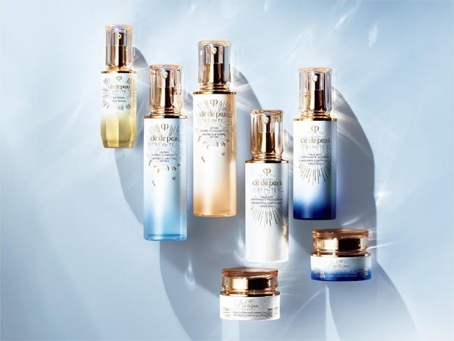 輝き続ける肌のために 輝きを表現したキーラディアンスケア限定パッケージ発売 クレ・ド・ポー ボーテの大人気美容液「ル・セラム」限定サイズも登場